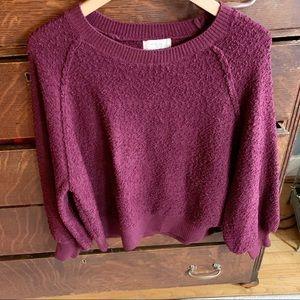 Altar'd State Burgundy Sweater